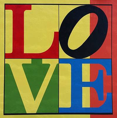 Indiana Scenes Digital Art - Love In Colors by Rob Hans