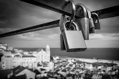 Engagement Photograph - Love In Lisbon by Carlos Caetano