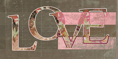 Love - J249115131t-rwtp Print by Variance Collections