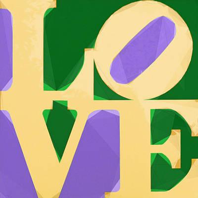 Men Digital Art - Love Letters by Celestial Images