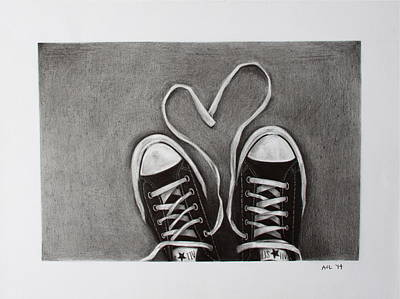 Love 'n' Laces Print by Aubry Claire Leal