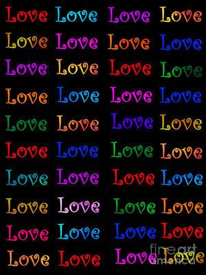 Love  Print by Nikunj Vasoya