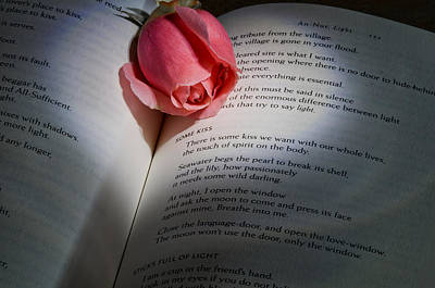 Roses Photograph - Love Poem by Don Schwartz