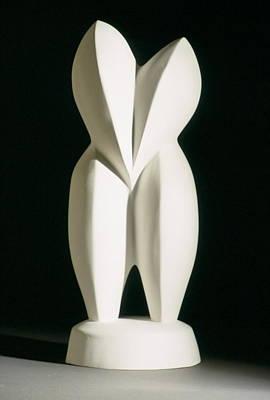 Lovebirds - Plaster Original by Manuel Abascal