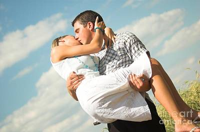 Affection Photograph - Lovely Couple by Michal Bednarek