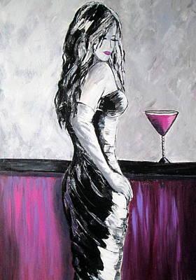 Lovely Lady Original by Rosie Sherman