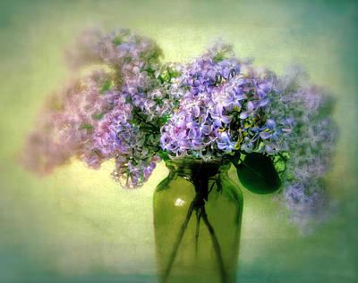 Violet Photograph - Lovely Lilac  by Jessica Jenney