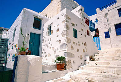 Vacances Photograph - Lovely Outer Wall by Aiolos Greek Collections
