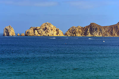Lovers Beach Cabo Print by Christine Till