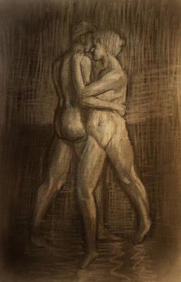 Lovers That Still Appreciate Print by Derek Van Derven