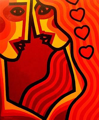 Lithograph Painting - Lovers Vi by John  Nolan
