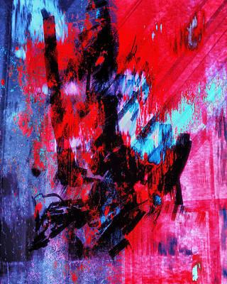 Collier Digital Art - Love's Awakening by Francine Collier