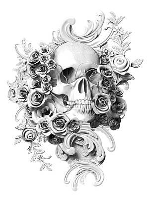 Victorian Death Digital Art - Love's Last Smile by Pixel Chemist