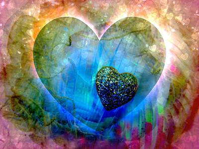 Love's Sighs Print by Shirley Sirois