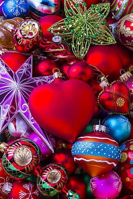 Loving Christmas Print by Garry Gay