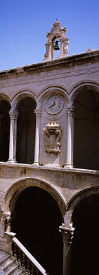 Dubrovnik Photograph - Low Angle View Of A Bell Tower, Rectors by Panoramic Images