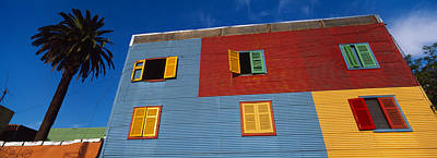 Low Angle View Of A Building, La Boca Print by Panoramic Images