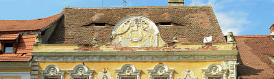 Romania Photograph - Low Angle View Of A Building, Sibiu by Panoramic Images