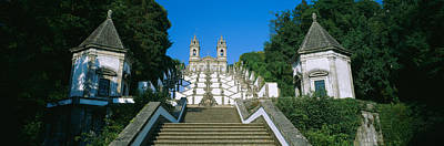Low Angle View Of A Cathedral, Steps Print by Panoramic Images