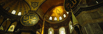 Mosaic Photograph - Low Angle View Of A Ceiling, Aya by Panoramic Images