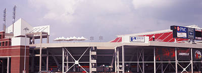 Low Angle View Of A Football Stadium Print by Panoramic Images