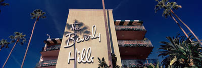 Beverly Hills Photograph - Low Angle View Of A Hotel, Beverly by Panoramic Images