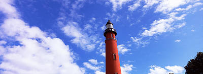 Low Angle View Of A Lighthouse, Ponce Print by Panoramic Images