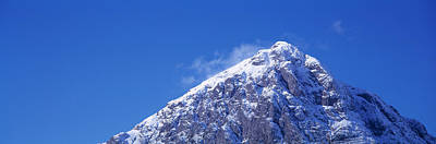 Low Angle View Of A Mountain Print by Panoramic Images