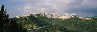 Getty Photograph - Low Angle View Of A Museum On Top by Panoramic Images