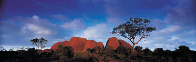 Kata Photograph - Low Angle View Of A Sandstone, Olgas by Panoramic Images