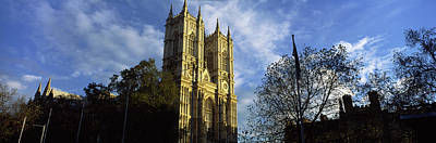 Westminster Abbey Photograph - Low Angle View Of An Abbey, Westminster by Panoramic Images