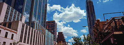 Low Angle View Of Buildings In Austin Print by Panoramic Images
