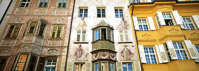 Mural Photograph - Low Angle View Of Old Buildings by Panoramic Images