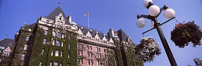 Low Angle View Of The Empress Hotel Print by Panoramic Images