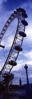 London Eye Photograph - Low Angle View Of The London Eye, Big by Panoramic Images