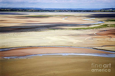 Low Tide In Brittany Print by Elena Elisseeva