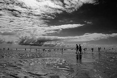 Low Tide Print by Jean-Philippe Jouve