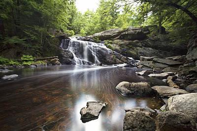 Purgatory Photograph - Lower Purgatory Falls by Eric Gendron