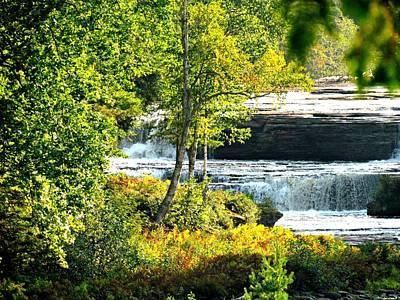 Lower Tahquamenon Falls Original by Angela LaRue