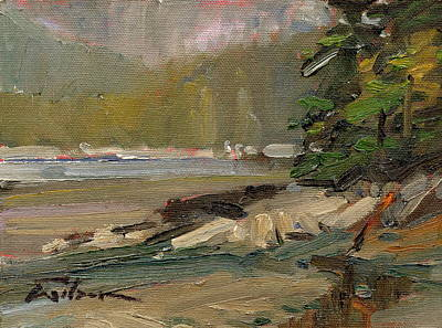 Lowtide At Tower Point Original by Ron Wilson