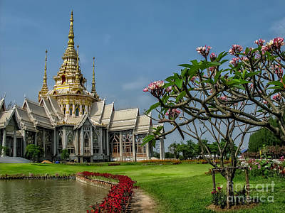 Buddhist Photograph - Luang Phor Toh Temple by Adrian Evans