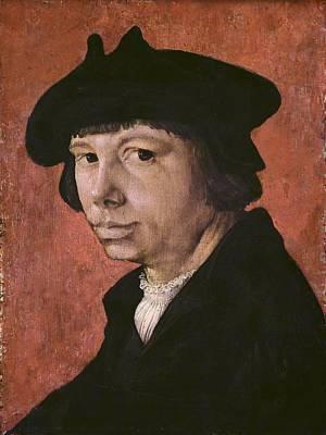 Self Portrait Photograph - Lucas Van Leyden 1494-1533 by Everett