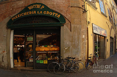 Lucca Italy Print by Bob Christopher