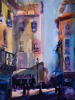 Lucca Street Scene Original by Joseph Giuffrida