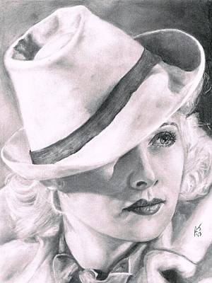 Lucille Drawing - Lucille Ball by Ryan Jacobson