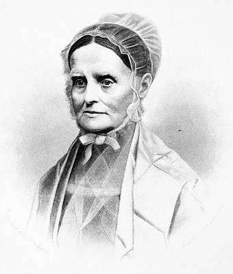 Suffrage Painting - Lucretia Coffin Mott (1793-1880) by Granger