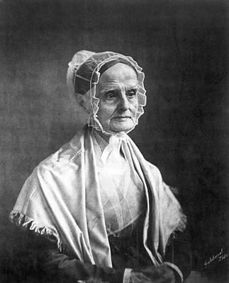 Lucretia Coffin Mott(1793-1880) Print by Granger