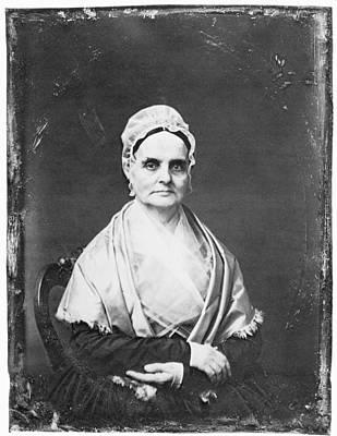 Lucretia Mott (1793-1880) Print by Granger