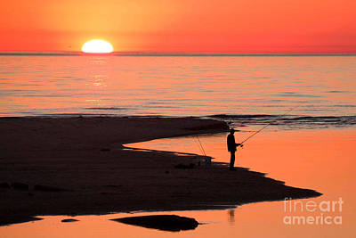 Sauble Photograph - Ludington State Park Sunset by Twenty Two North Photography