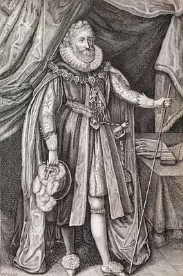 Ludovic Stewart Print by Paul D Stewart